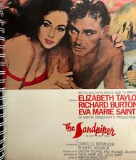 for The Sandpiper Richard Burton - Elizabeth Taylor FAN  Album Cover Notebook