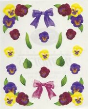 Creative Memories BLOCK STICKER - FLOWERS AND BOWS, LEAVES