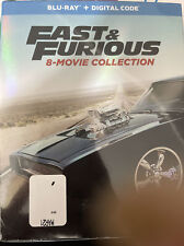 Fast and Furious: 8-Movie Collection (Blu-ray, 2017, 9-Discs)
