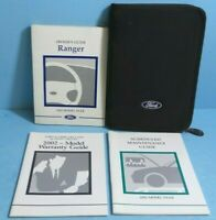 02 2002 Ford Ranger owners manual
