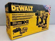 DeWalt DCK299M2 20V MAX Brushless Hammerdrill & Impact Driver Combo Kit