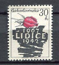 32907) CZECHOSLOVAKIA 1967 MNH** Destr. Lidice by Nazi 1v