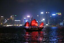 Hong Kong Night City China HD POSTER