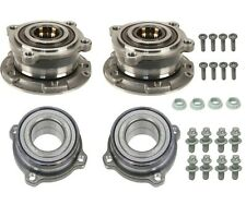 Front and Rear Wheel Bearings & Bolts and Nuts Kit For BMW E70 F15 X5 X6