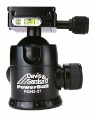 Davis & Sanford PB343-27 Power Ball Head with 3 Control and Quick Release Black