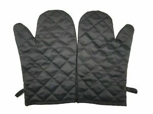 2x Oven Glove Kitchen Cooking Pot Holder Thick Heat Resistant Mitt Mittens UK