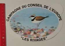 Autocollant/sticker: Slide TU Conseil de l'Europe-Les rivages (06031797)