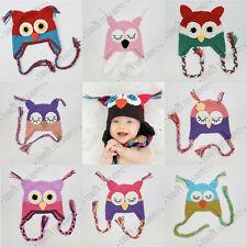 Baby Crochet Beanie Boy Girl Cap Knit Hat Costume Newborn Toddler Gift Props AU!