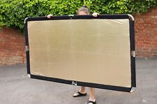 LASTOLITE SKYLITE 1.1 x 2m FRAME with sunfire gold/white reflector and diffuser