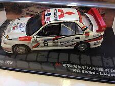 1/43 MITSUBISHI LANCER RS EVO III RALLYE SAN MARINO 1996 BEDINI-IXO RALLY CAR #6