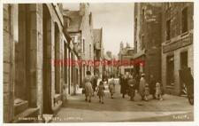 More details for real photo postcard commercial st, lerwick, shetland isles, scotland valentine 2