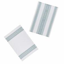 KitchenCraft Jacquard Tea Towels - Jacquard Grey