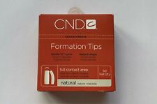 Cnd Formation Natural Nail Tips for Acrylic Uv Gel Size #1-10 50 Refill.