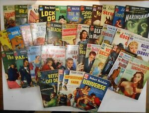DELL 10 CENT BOOKS- ENTIRE COLLECTION (#1-36) PAPERBACK, 1951, ALL GOOD TO VG!!!