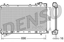 Kühler, Motorkühlung DENSO DRM36002 für SUBARU