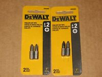 DeWalt DW2002 #2 Phillips Bit Tips - 4 Pieces