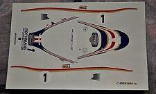 DECAL 1/43 #1 Rothmans Porsche Porsche 956: Jacky Ickx, Derek Bell LE MANS 1983