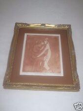 Limited Edition Etching/Engraving-La Mere et l'Enfant- Artist Alain 147/175