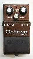 BOSS OC-2 Octave Guitar Effects Pedal 1994 #277 with Box Free Shipping
