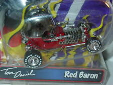 TOM DANIEL Toy Zone RED BARON -Red, 1/43 Scale NICE!