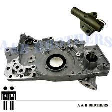 Fit CT9A Lancer EVO VIII IX Evolution 8 9 4G63T Oil Pump Kit + H.Tensioner + RTV