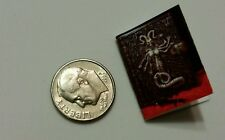 Miniature dollhouse Halloween witch spell book Barbie 1/12 Scale  Dragon