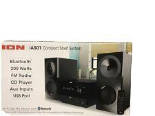 ION Audio Hi-Fi Stereo Shelf System with Bluetooth