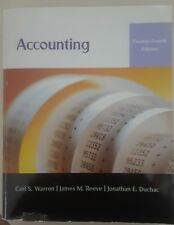 Accounting - 24th Edition (Warren, Reeve, Duchac)