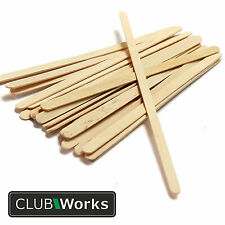 Epoxy resin wood mixing sticks - Packs of 25, 50 and 100