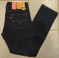New Mens 511 Levi's Levi Strauss Slim Stretch Dark Blue Jeans 29x32 29w 32L
