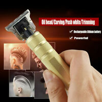 Men Electric Pro Hair Clipper Cutting Trimmer Beard Barber Cordless Blade Shaver