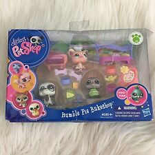 Hasbro Littlest Pet Shop Humble Pie Bakery Set LPS #1593 #1594 #1595