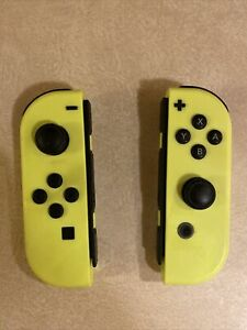 Nintendo HACAJADAA Joy-Con (L/R) Wireless Controllers for Switch - Neon Yellow