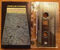JOHN LEE HOOKER - ENDLESS BOOGIE (BGOMC70) UK CASSETTE REISSUE 1971 ALBUM BLUES