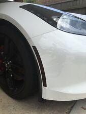 14-17 Corvette C7 Sidemarkers & Reflector Light Tint Smoke Vinyl Overlay 6 Piece