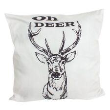 Oh Deer cushion Oh dear! novelty cushion heavensends 45cm christmas cushion