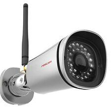 FOSCAM FI9900P Full HD 2MP IP WLAN ÜBERWACHUNGSKAMERA KABELLOS IR Nachtsicht PTP