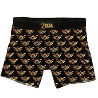 Legend of Zelda Mens Boxer Briefs 2 Pack Size Small Boxers Underwear Nintendo