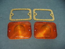 62 63 64 65 Ford Falcon park lamp lens 62 63 Fairlane gaskets