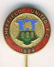 old SHEFFIELD UNITED F.C. Football PIN BADGE Soccer ENGLAND UK Blades
