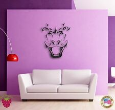 Wall Sticker Tiger Roar Jungle Animal Cool Decor for Living Room z1346