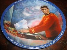 Star Trek---Scotty Plate---Hamilton Collection---1983---With Box---With COA