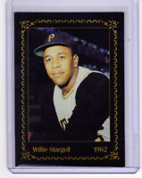 Willie Stargell, '62 Pittsburgh Pirates rookie, Century Series, Hall Of Famer