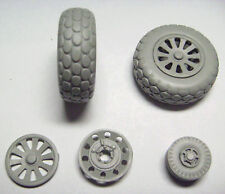 GMAJR2403 1/24 MUSTANG P51 WHEELS -  TYRES, HUBS AND TAIL WHEEL AIRFIX TRUMPETER