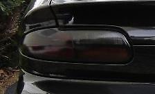93-02 CHEVY CAMARO SMOKE TAIL LIGHT PRECUT TINT COVER SMOKED OVERLAYS