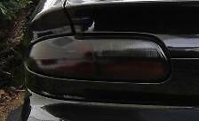 FOR 93-02 CHEVY CAMARO TAIL LIGHT PRECUT SMOKE TINT OVERLAYS