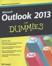 Outlook 2013 For Dummies by Dyszel, Bill