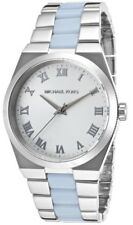 Michael Kors Channing MK6150 Silver Dial Two-Tone Stainless Steel Women's Watch