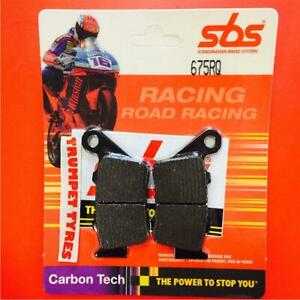BMW F 650GS Dakar 01>07 SBS Trasero Carbono Tech Pastillas de Freno Set 675RQ