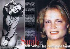 Coupure de presse Clipping 1999 Romy Schneider & Sarah Biasini  (4 pages)